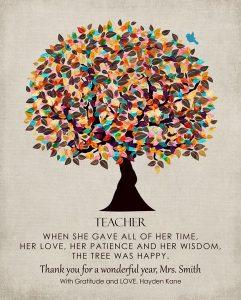 Custom Gift for Teacher Art Proof for LaChelle K.