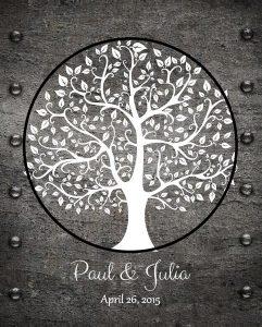 Personalized 6 Year Anniversary Gift Custom Art Proof for Paul B.