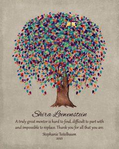 Custom Mentor Gift Art Proof for Shira L.