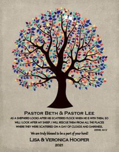Custom Pastor Art Proof for Lauren K.