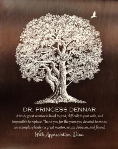 Read more about the article Custom Mentor Gift Art Proof for Dr. Princess D.