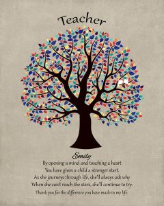 Read more about the article Custom Gift for Teacher Art Proof for Emma T.