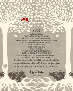 Read more about the article Custom Wedding Day Gift Art Proof for Faith B.
