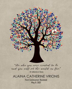 Read more about the article Custom Confirmation Communion Art Proof for Jen V.