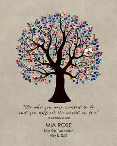Read more about the article Custom Confirmation Communion Art Proof for Mia H.