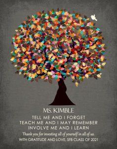Custom Gift for Teacher Art Proof for Michelle S.