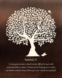 Read more about the article Custom Mentor Gift Art Proof for Nancy D.