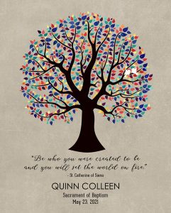 Read more about the article Custom Confirmation Communion Art Proof for Quinn A.