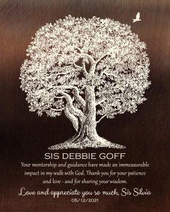 Custom Mentor Gift Art Proof for Silvia P.