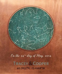 Personalized 7 Year Anniversary Gift Custom Art Proof for Tracey D.