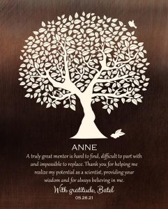 Read more about the article Custom Mentor Gift Art Proof for Anne R.