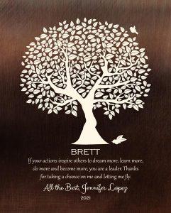 Custom Mentor Gift Art Proof for Brett H.