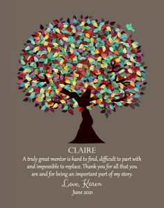 Read more about the article Custom Mentor Gift Art Proof for Claire D.