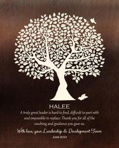 Custom Mentor Gift Art Proof for Halee B.