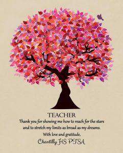 Custom Gift for Teacher Art Proof for Jayne D.