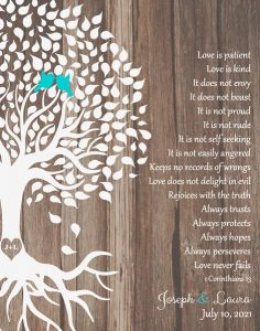 Read more about the article Custom Wedding Day Gift Art Proof for Laura M.