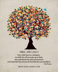 Read more about the article Custom Gift for Teacher Art Proof for Marcela G.