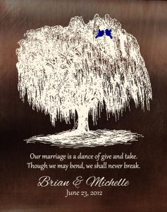 Read more about the article Personalized 9 Year Anniversary Gift Custom Art Proof for Michelle G.