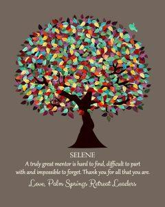 Custom Mentor Gift Art Proof for Selene B.