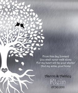 Read more about the article Custom Wedding Day Gift Art Proof for Aaron K.