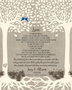 Read more about the article Custom Wedding Day Gift Art Proof for Allison L.