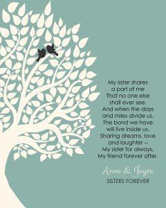 Custom Sister Gift Art Proof for Anne R.