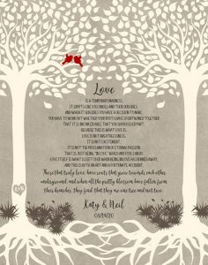 Read more about the article Custom Wedding Day Gift Art Proof for Shawn J.