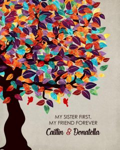 Read more about the article Custom Sister Gift Art Proof for Donatella M.
