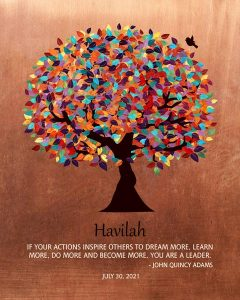 Read more about the article Custom Mentor Gift Art Proof for Havilah D.
