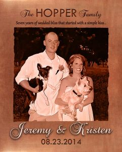 Read more about the article Personalized 7 Year Anniversary Gift Custom Art Proof for Jeremy H.