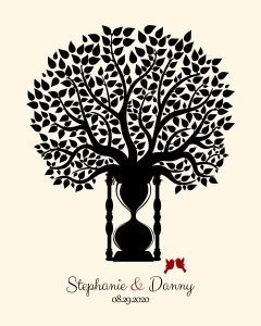 Read more about the article Personalized 1 Year Anniversary Gift Custom Art Proof for Stephanie N.