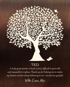 Read more about the article Custom Mentor Gift Art Proof for Ted M.