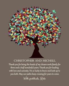 Read more about the article Custom Mentor Gift Art Proof for Christopher and Michele R.