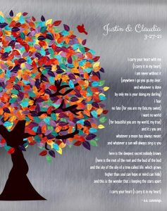 Read more about the article Custom Wedding Day Gift Art Proof for Dr. and Mrs. A.
