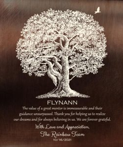 Read more about the article Custom Mentor Gift Art Prooffor Flyn J.