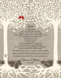 Read more about the article Custom Wedding Day Gift Art Proof for Francisco & Yalissa M.