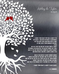 Read more about the article Custom Wedding Day Gift Art Proof for Julie B.